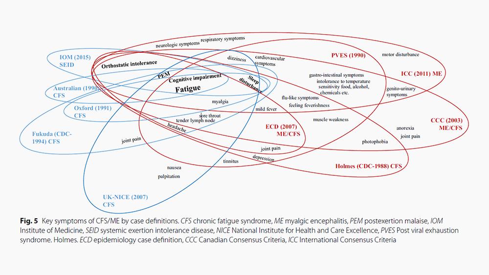 만성피로증후군의 문헌연구 도표